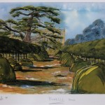 Watercolour by Prince Charles
